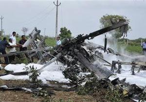 Индия - В Индии потерпел крушение вертолет Ми-17, погибли 20 человек