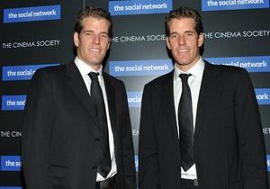 Братья-близнецы отказались от претензий на Facebook