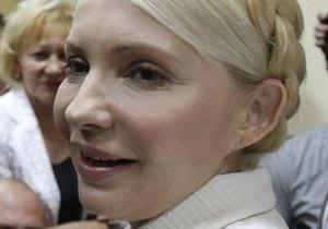 Черниговский кожвендиспансер просит суд освободить Тимошенко