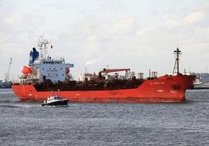 Оператор захваченного танкера с украинцами на борту ведет переговоры о его освобождении