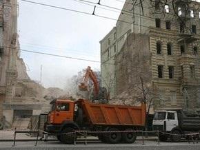 В центре Киева разрушили дом, в котором жил Шолом-Алейхем