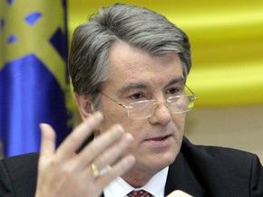 Ющенко обратил внимание на ситуацию с гривной