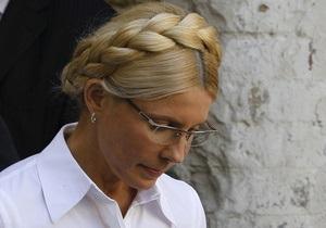 Пенитенциарная служба: Для Тимошенко спецусловий в тюрьме не будет