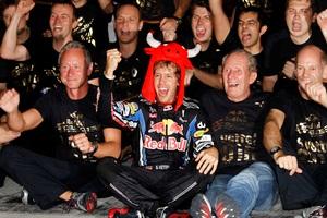 Себастьян Феттель завершит 2010 год на вершине Castrol Driver Rankings