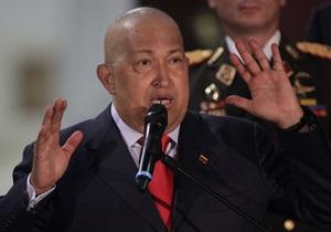 Чавес начал третий курс химиотерапии