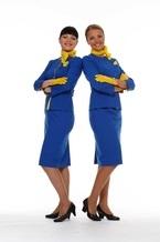 Бортпроводники «Международных Авиалиний Украины» получили новую форму от Ирины Каравай