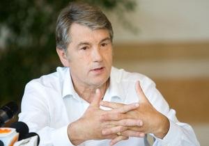 Интервью с Виктором Ющенко