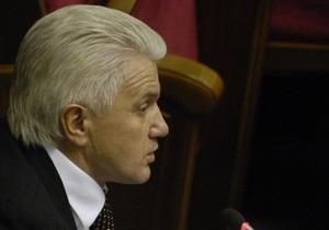 Литвин никому не обещал, что не подпишет языковой закон - пресс-секретарь