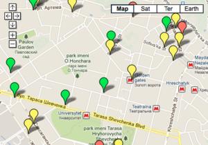 Языковой вопрос: В интернете появилась карта нарушений в киевских заведениях общепита