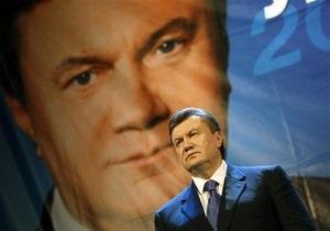 Янукович: Я пять лет жду поздравлений с победой на выборах