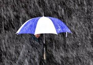 Прогноз погоды на понедельник: в Киеве ожидают дождь с мокрым снегом