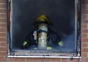 В общежитии в городе Ровно произошел пожар