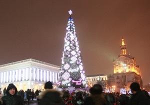 СМИ: В новогоднюю ночь милиция не штрафовала распивающих спиртное киевлян