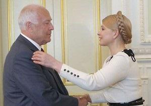 Тимошенко из-за болезни не поедет на похороны Черномырдина
