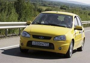 Lada Kalina стала самым продаваемым автомобилем в России