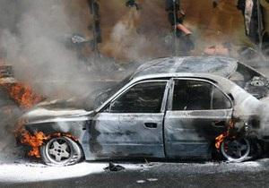 Жительница Сумской области сожгла два автомобиля, пытаясь разогреть двигатель электроплиткой