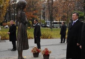 Янукович о Голодоморе: Это был настоящий Армагеддон