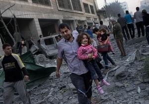 Конфликт в секторе Газа: посол Палестины просит помощи у Януковича