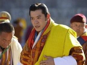 В Бутане коронован самый молодой монарх в мире