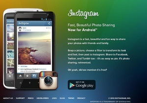 Пользователи Android получили доступ к Instagram