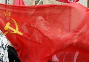 ВО Свобода требует отменить решение о вывешивании в Херсоне флагов СССР