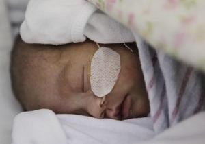 В Одессе в Окне жизни впервые оставили ребенка