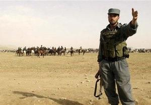 В Афганистане мужчина в полицейской форме расстрелял шестерых военнослужащих НАТО
