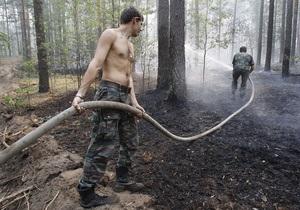 В Крымском природном заповеднике загорелся лес