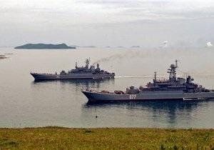 Россия впервые проведет маневры с КНДР