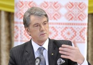 Ющенко призвал конкурентов корректно вести свои кампании