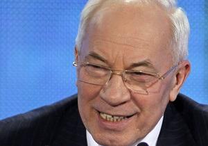 Азаров пообещал Украине платные дороги