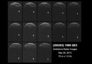 Гигантский астероид пролетел мимо Земли