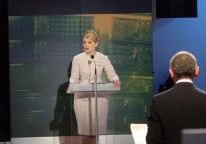 Тимошенко: Ток-шоу Шустера будет иметь недолгую жизнь
