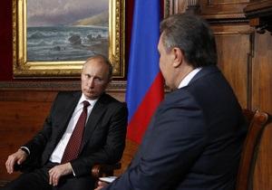 В пресс-службе Путина ничего не знают о визите Януковича