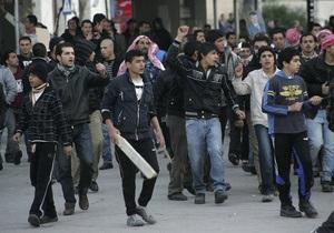 В столице Иордании прошли новые акции протестов