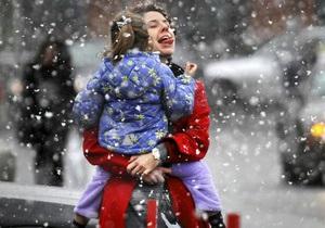 Выходные в Украине будут снежными и морозными