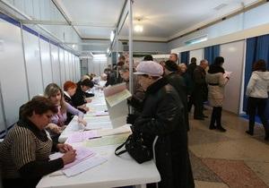 Выборы в Киевской области: в КИУ выявили фальсификации в пользу Партии регионов