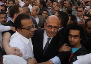 В Каире забросали камнями экс-главу МАГАТЭ