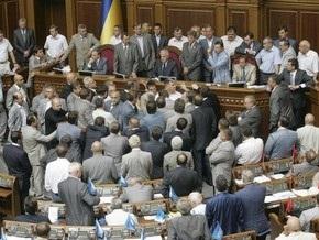 Партия регионов грозит вновь заблокировать работу Рады