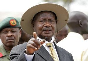 Президент Уганды пообещал сьесть своего оппонента
