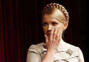 Тимошенко проигнорировала вопрос Богословской о своем здоровье