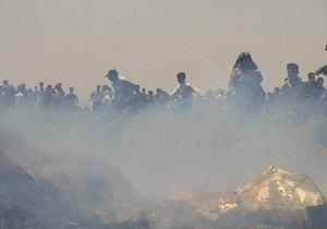 Грузовой самолет Антонов упал на жилые кварталы в Конго, множество погибших