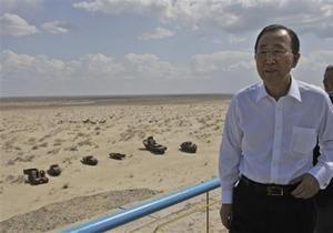 Генсек ООН поражен темпами высыхания Аральского моря