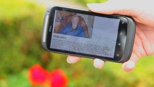 Би-би-си: На кладбище - со смартфоном
