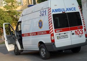 В Виннице четверо детей пострадали от взрыва пластиковой бутылки с неизвестным веществом