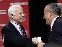 CМИ: Джулиани откажется от участия в выборах в пользу Маккейна