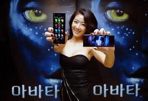 LG и Twentieth Century Fox предлагают эксклюзивный контент из фильма «АВАТАР» на широком экране модели LG New Chocolate BL40