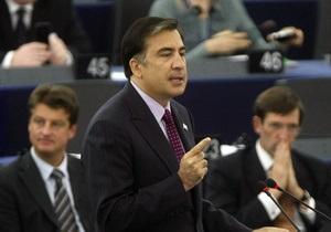 Саакашвили считает вступление Грузии в ЕС вопросом жизни и смерти