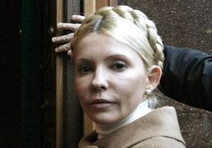 Тимошенко передали дозиметр