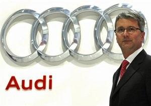 Audi намерена в этом году обогнать Mercedes-benz по объемам продаж